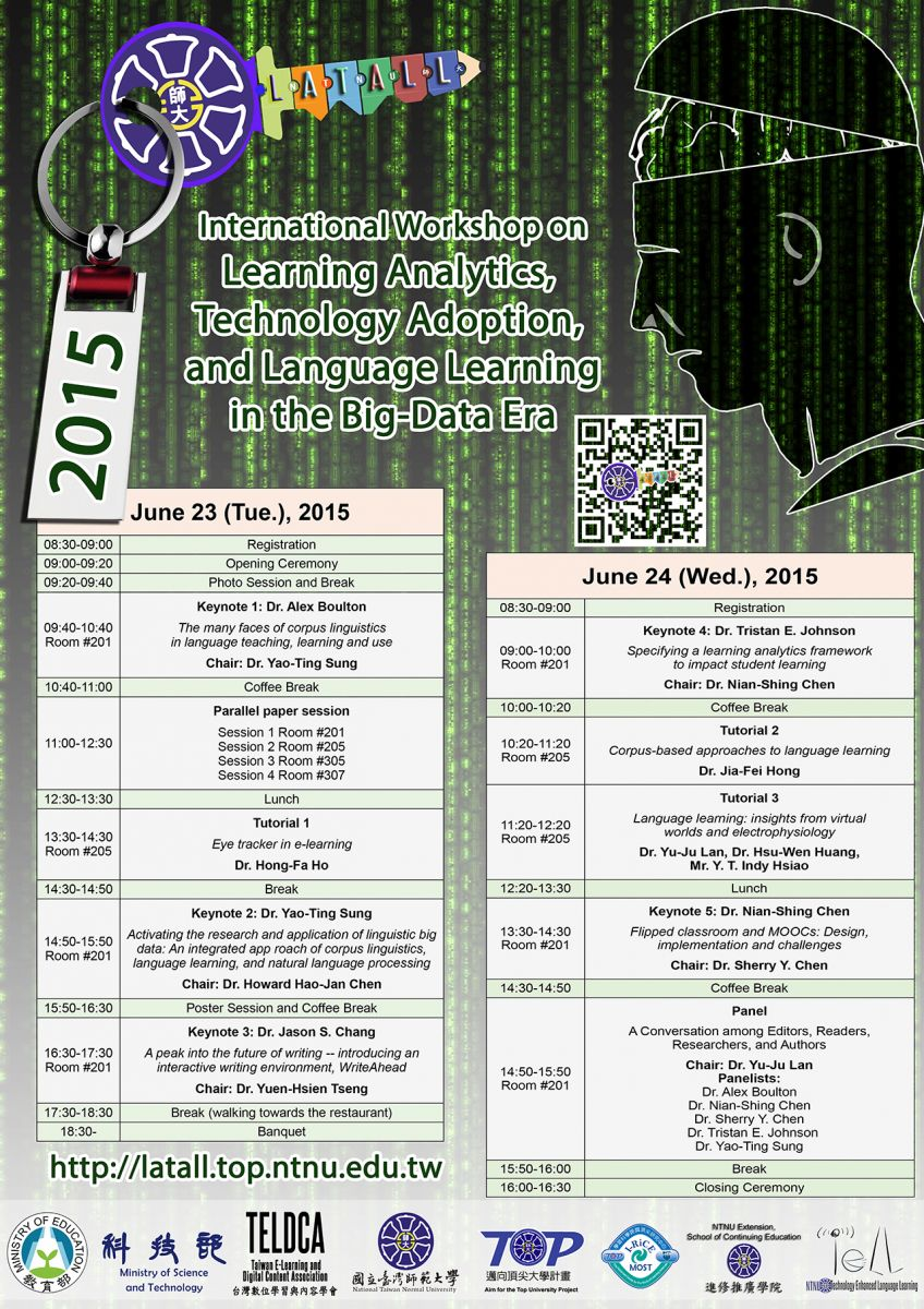 LATALL 2015 Poster Schedule